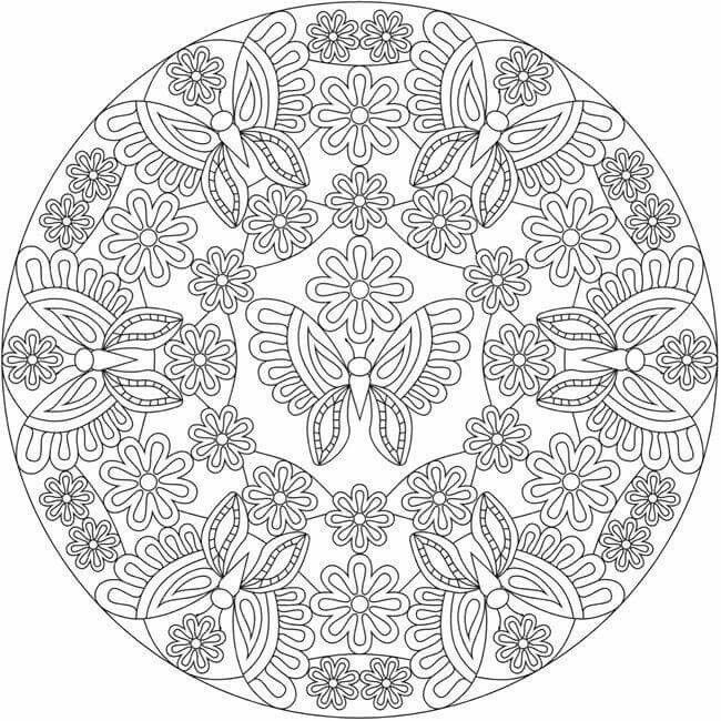 Coloring | clip art | Pinterest | Mandala, Adult coloring and ...
