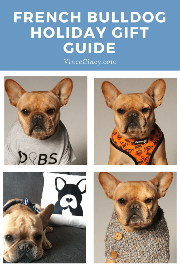 Holiday Gift Guide for French Bulldogs Holiday gift