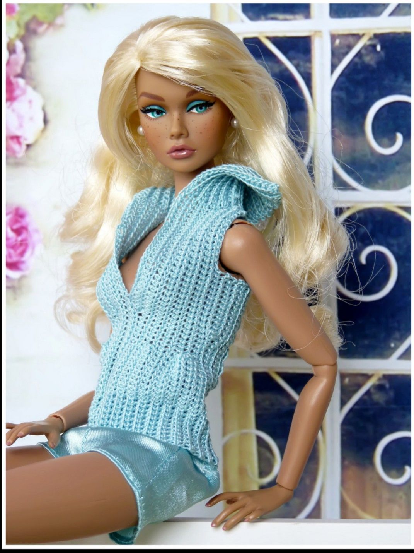 Pin de Susana Feoli en ROPA TEJIDA PARA BARBIE   Pinterest   Barbie ...