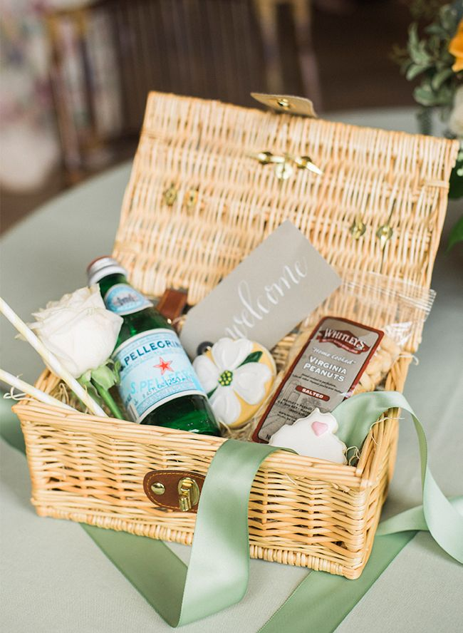 Wedding Welcome Gift Basket For Any Destination