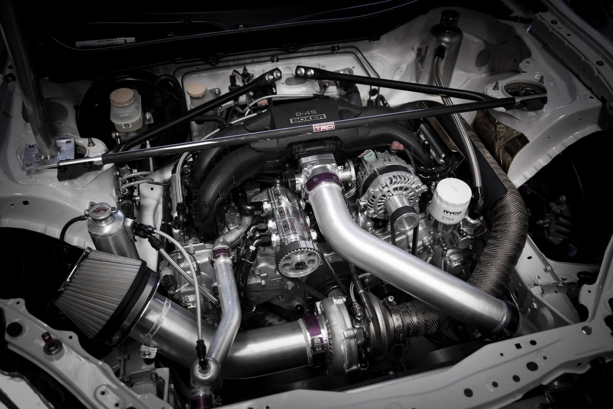zn scion frs trd supercharger turbocharger toyota