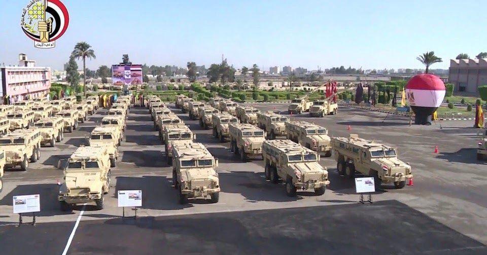 الجيش المصري يحصل على دفعة إضافية من المركبات المدرعة المقاومة للألغام Mrap من الولايات المتحدة British Armed Forces American Armed Forces French Armed Forces