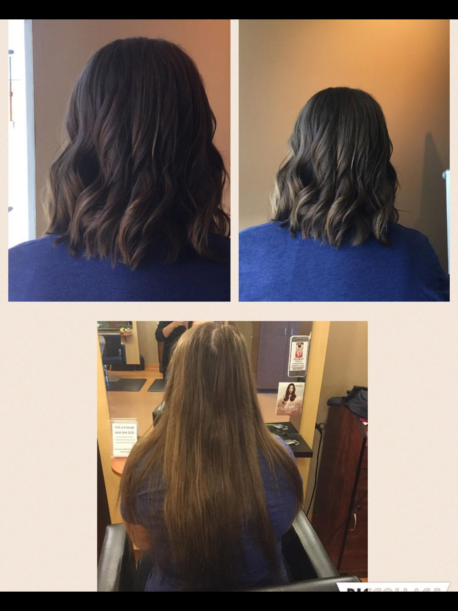 A clean and refreshing transformation. With this rich color and cut it makes a whole new look. @lightsalonandspa