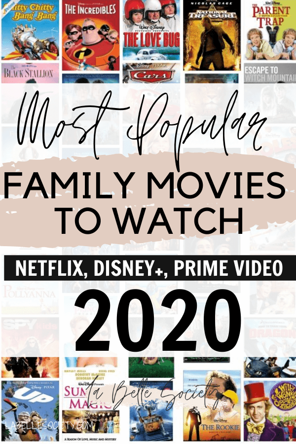 Most Popular Movies To Stream From Netflix And Disneyplus Family Movies Netflix Family Movies Good Movies On Netflix