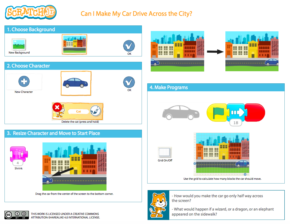 Using Scratch Jr  as a Stepping Stone for Coding (Mrs