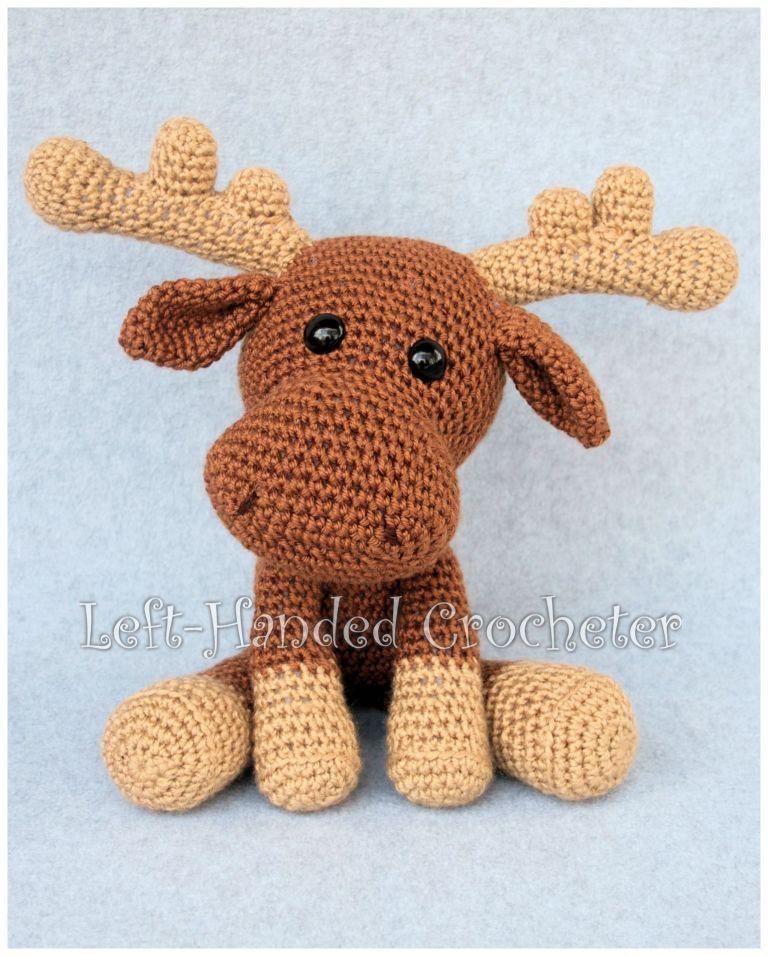 Moose Crochet Pattern Knittingcrochet Ideascrafts Crochet