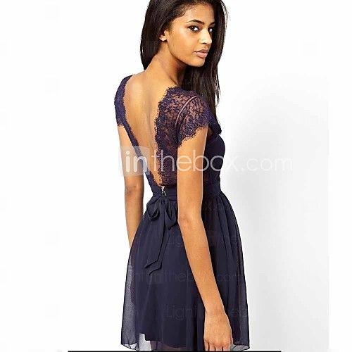 sexy en dentelle mini robe mince des femmes de 2016 ? €11.75