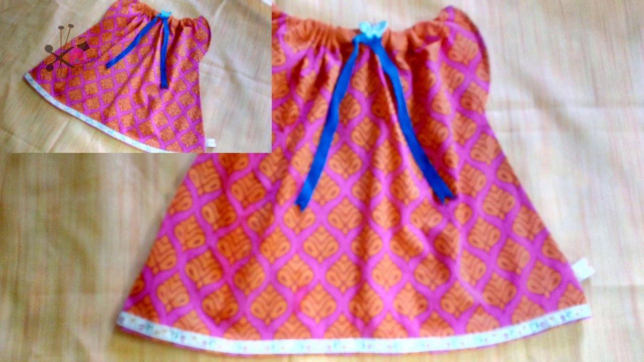 61c8012d93c1 Comfy Baby Jabla frock chola DIY  Simple  Easy newborn Baby zabla ...
