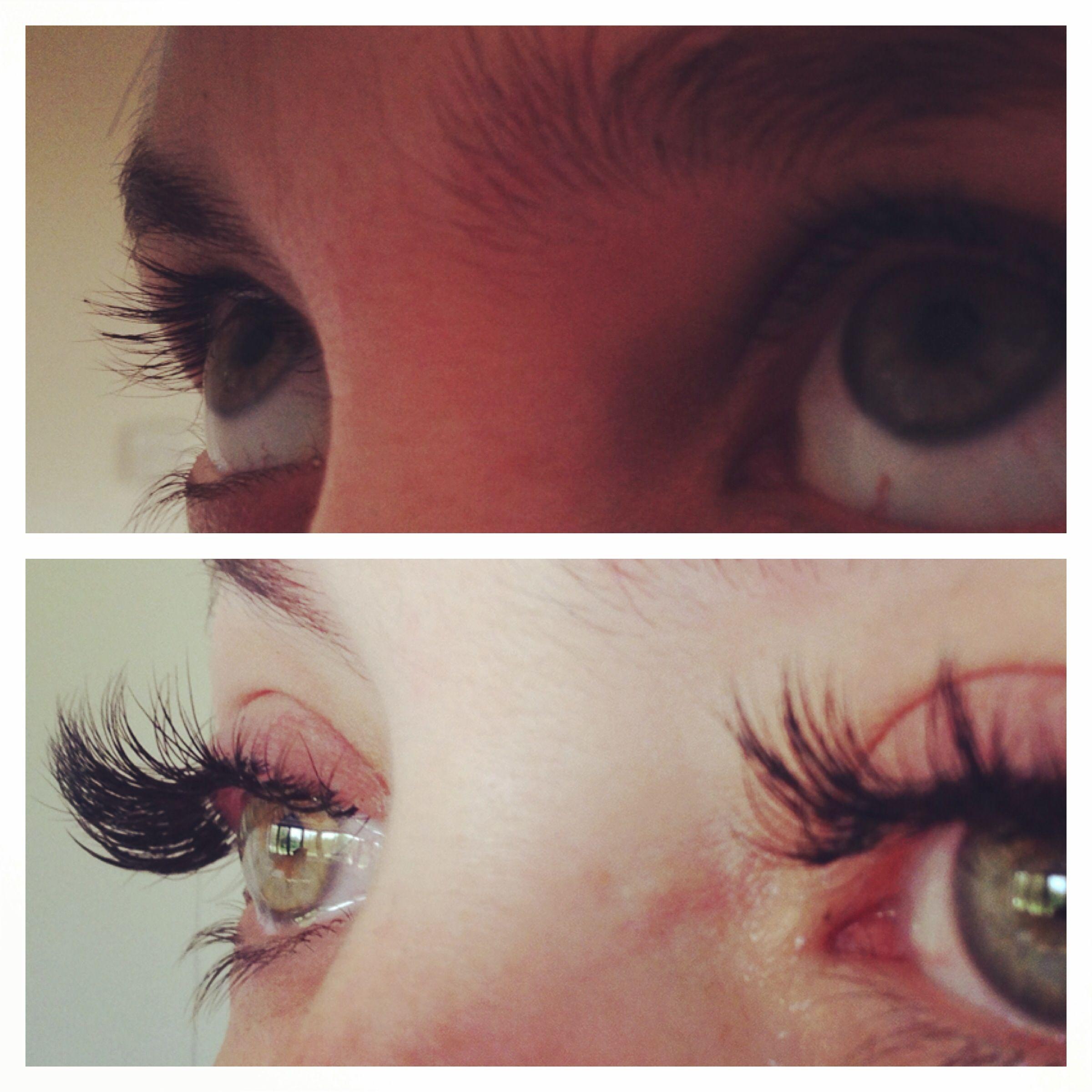 Individual Semipermanent Eyelash Extensions Minkeyelashextensions