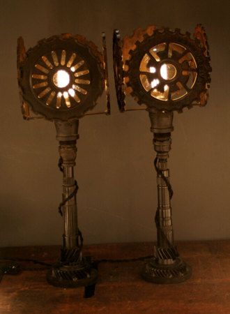 Pin By Ukiah Ife On Lamps R Us Table Lamp Steampunk