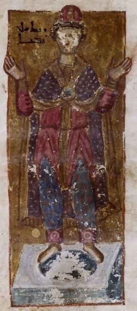 The Syriac Bible of Paris, folio 186r, Daniel, 7th Century