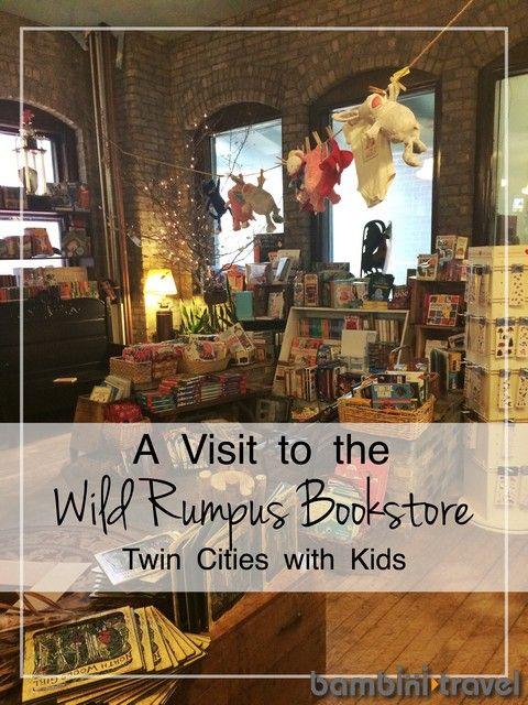 Wild Rumpus Bookstore | Twin Cities or Minneapolis with Kids | Bambini Travel