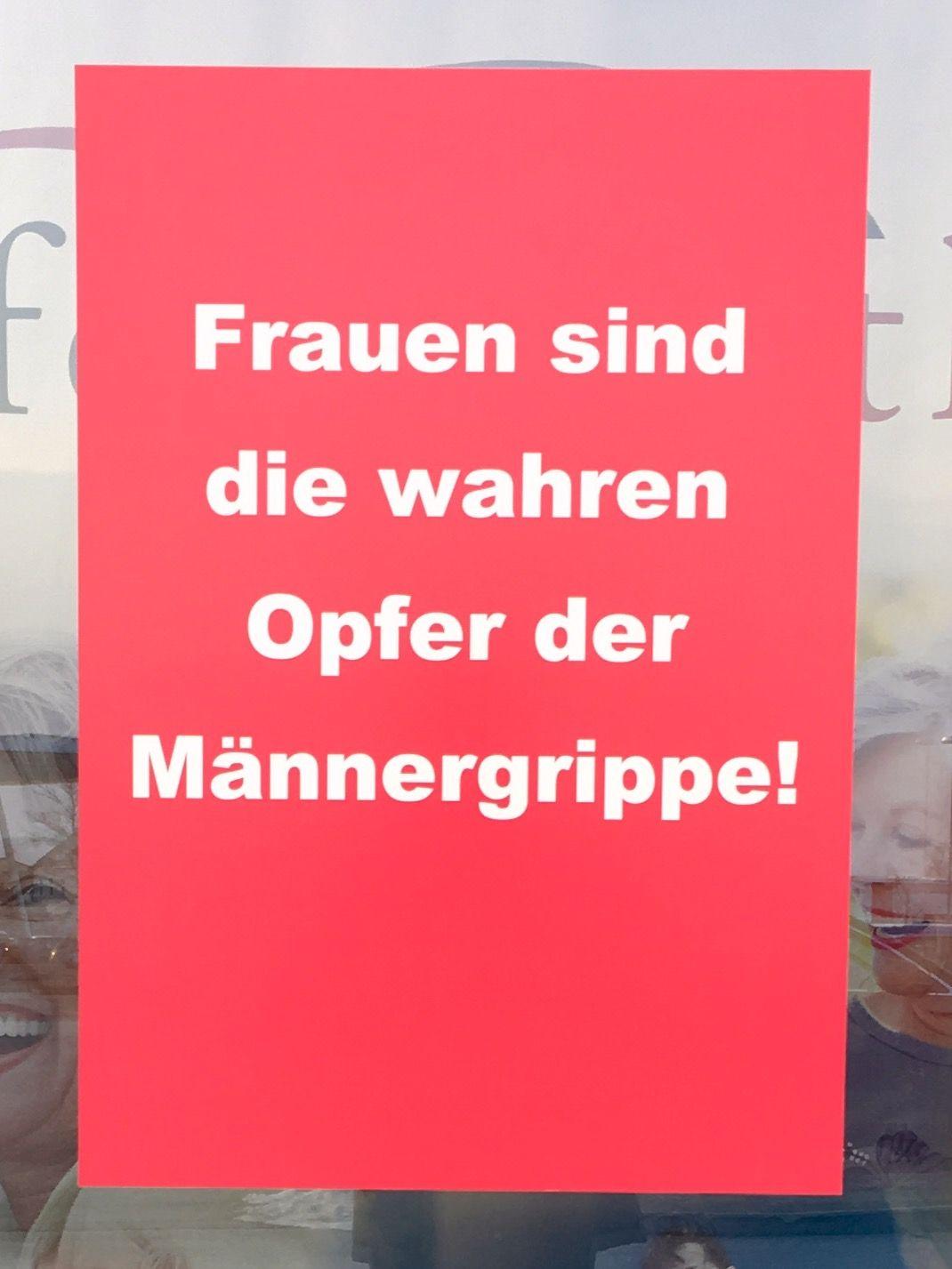 Männergrippe 🤒