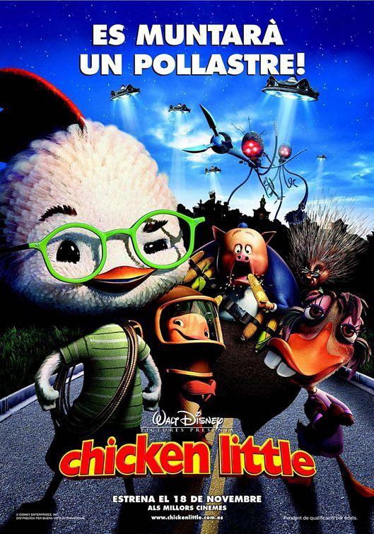 Chicken Little 2005 Peliculas De Disney Peliculas De Animacion Peliculas Viejas De Disney