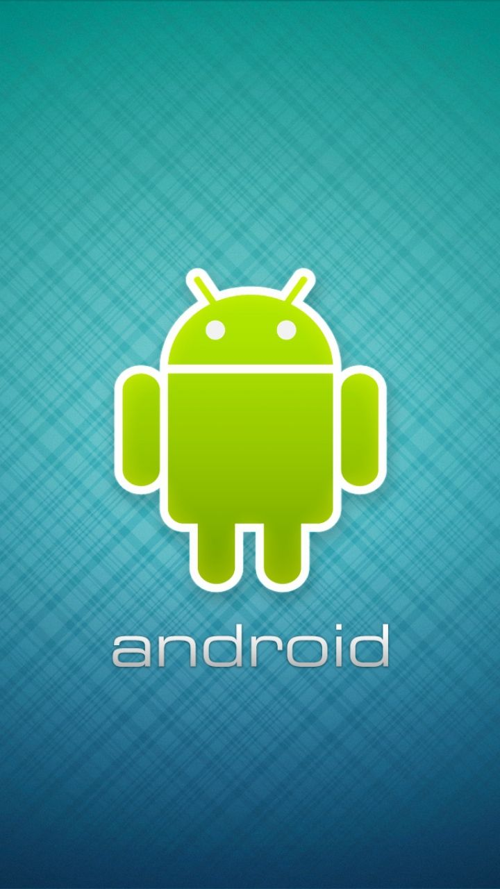 Android Wallpaper For Mobile Android Robot Logo Center Wallpaper For Mobile 720x1280 Mobile