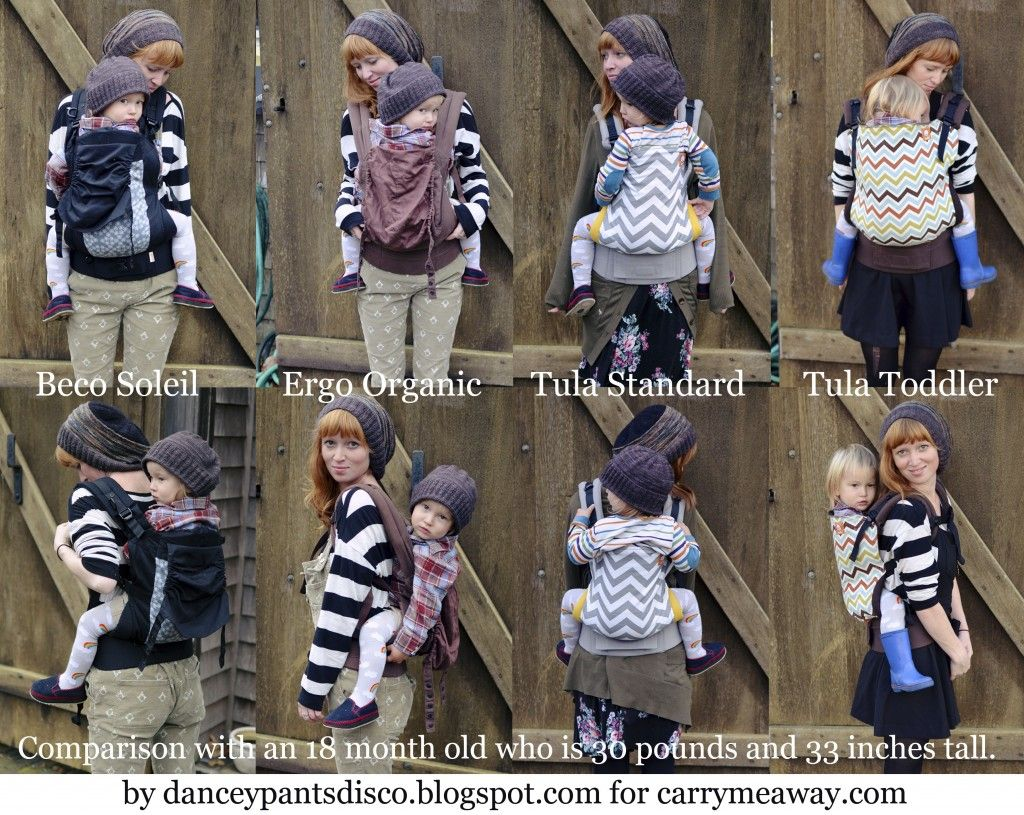 Our Comparison Chart Of Toddler Buckle Carriers | Best ...