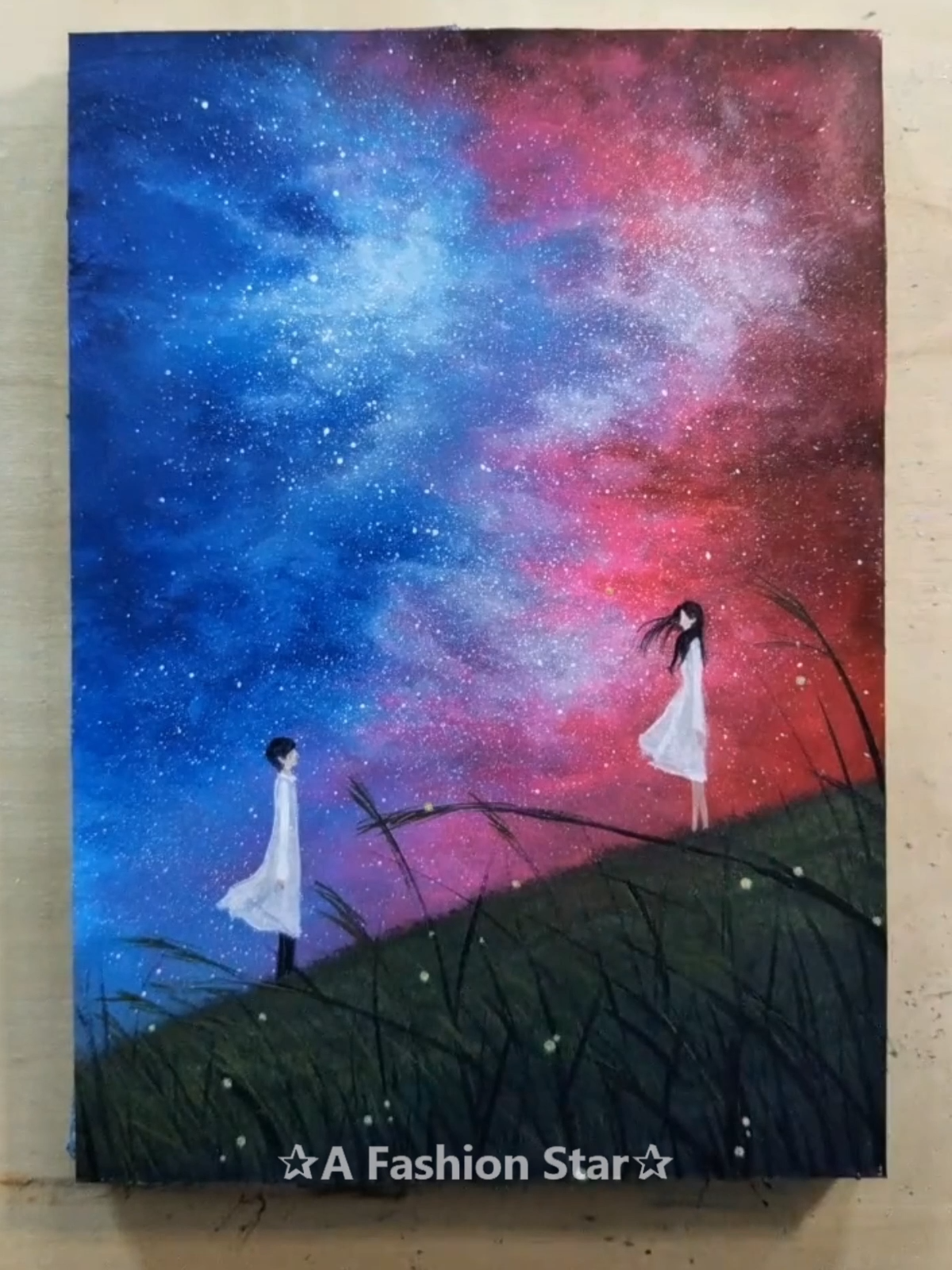 Are You Looking For Some Easy Painting For Home Decor The Art Of Starry Sky Painting Is Very Popular In Recent Years Paint Painting Art Drawings Sky Painting