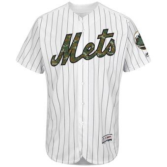 c45bfb9353f New York Mets Majestic Fashion 2016 Memorial Day Flex Base Team Jersey -  White