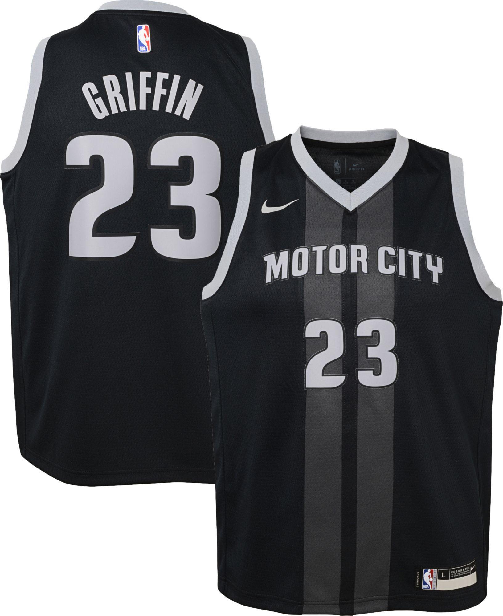 35a6f8192 Nike Youth Detroit Pistons Blake Griffin Dri-FIT City Edition Swingman  Jersey
