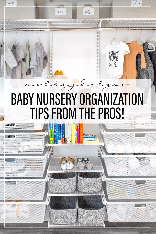 Baby Nursery Organization Ideas