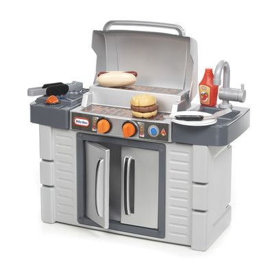 Cook N Grow Bbq Grill Kitchen Set With Images Pretend Play Kitchen Kids Pretend Play Kitchen Play Kitchen