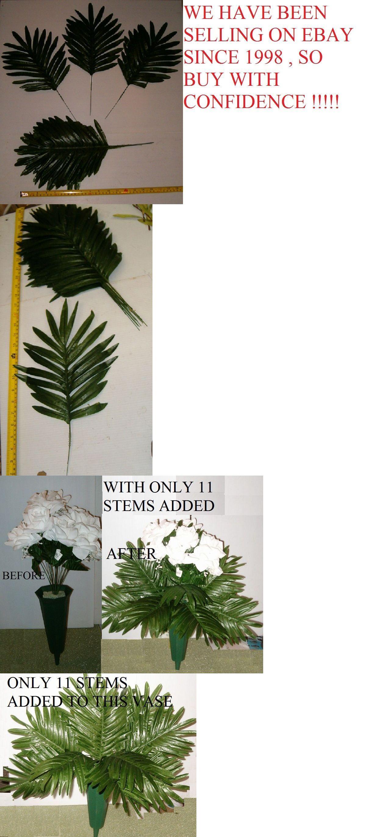Floral Supplies 48755 84 Silk Palm Fern Leaf Stems Wholesale Silk