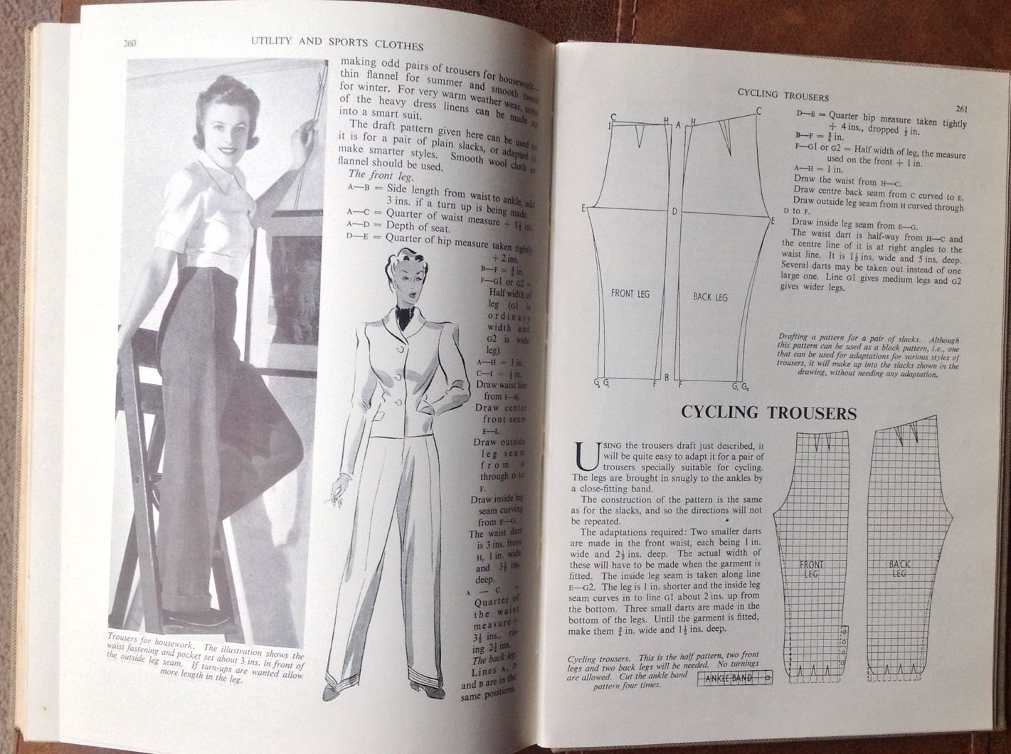 THE PICTORIAL GUIDE TO MODERN HOME DRESSMAKING C.Franks 1940 Vintage Book Odhams | eBay