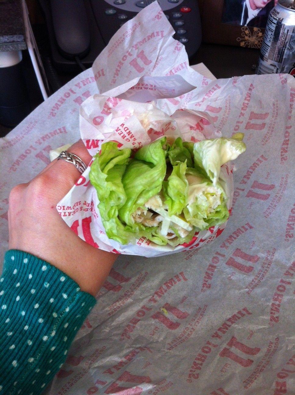 The Unwich By Jj Jimmy John S Jimmy Johns Eat Diet
