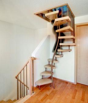 innovative raumspartreppe ais dachausbau. Black Bedroom Furniture Sets. Home Design Ideas