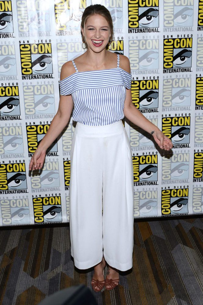 Melissa Benoist a Super Girl, Comic Con 2016 Eu capitu blog