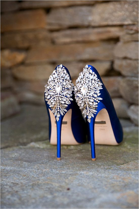Touch Of Glam Outdoor Wedding Blue Wedding Shoes Wedding Heels