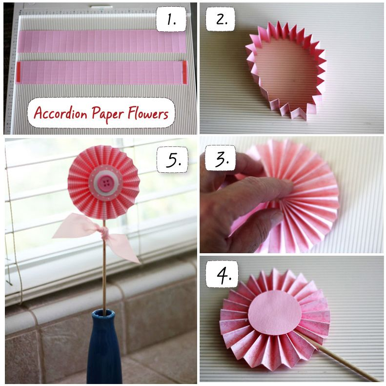 How To Make A Paper Flower Diy Crafts Pinterest Paper