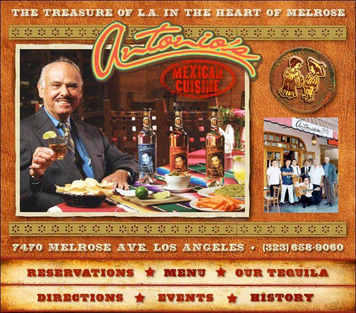 Antonio S Restaurant On Melrose Vintage Restaurant Best Mexican Restaurants Mexican Restaurant