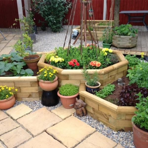 20 Brilliant Raised Garden Bed Ideas You Can Make In A: 20+ Garden Bed Ideas You Can Build In A Day