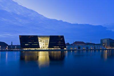 Royal Library in Copenhagen, Schmidt Hammer Lassen  Architecture
