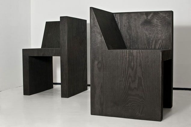 Rick Owens Box Chair Furniture Plywood Chair Plywood Boxes