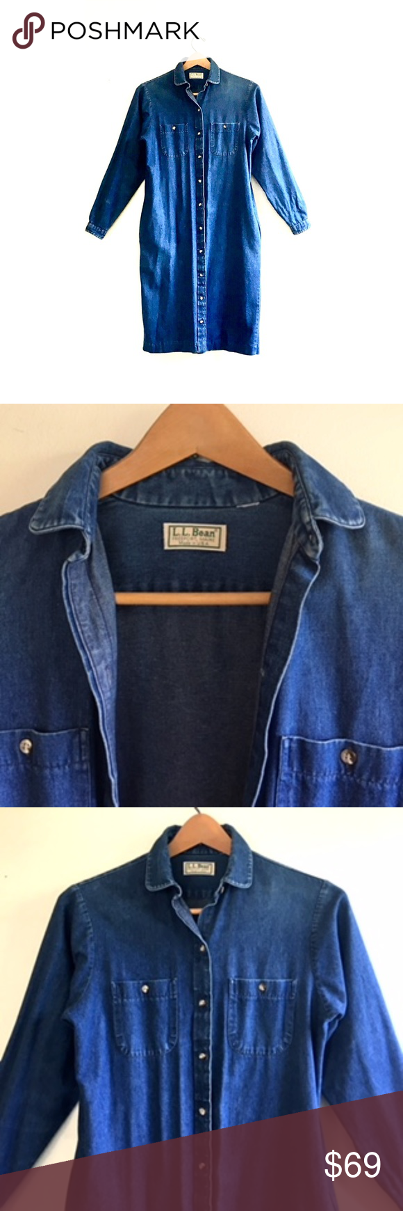 Vintage Womens Mid Blue Denim Jacket Long Sleeve Casual Regular Fit Jean Style