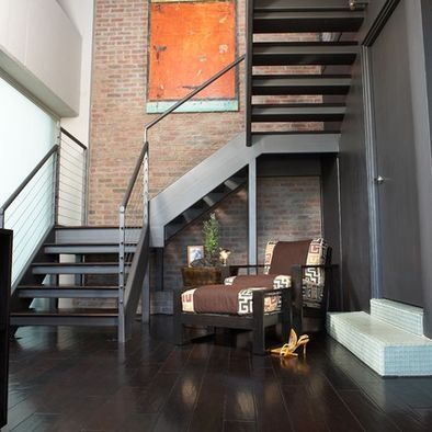Contemporary Staircase Design, Pictures, Remodel, Decor and Ideas - page 4