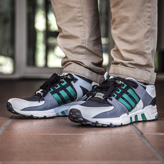 """4deb3bc33ee5 """" bigdaddytang in the OG colourway EQT Support 93s  sneakerfreaker  wdywt   adidas  adidaseqt  eqtsupport  eqt"""""""
