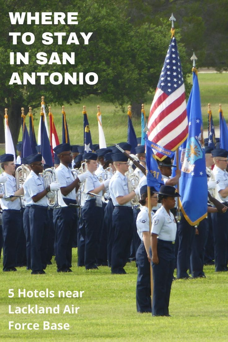 5 Places to Stay During Air Force Graduation in San