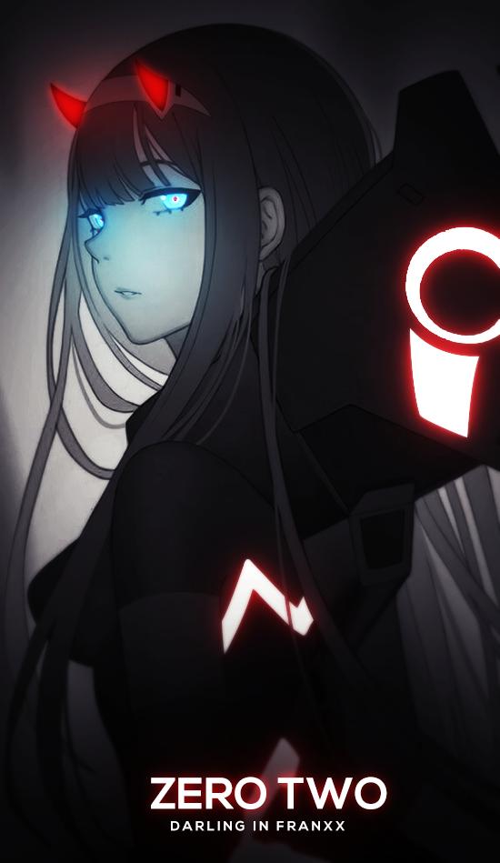 Anime Wallpapers Aesthetic Dark In 2020 Dark Anime Darling In The Franxx Anime Wallpaper