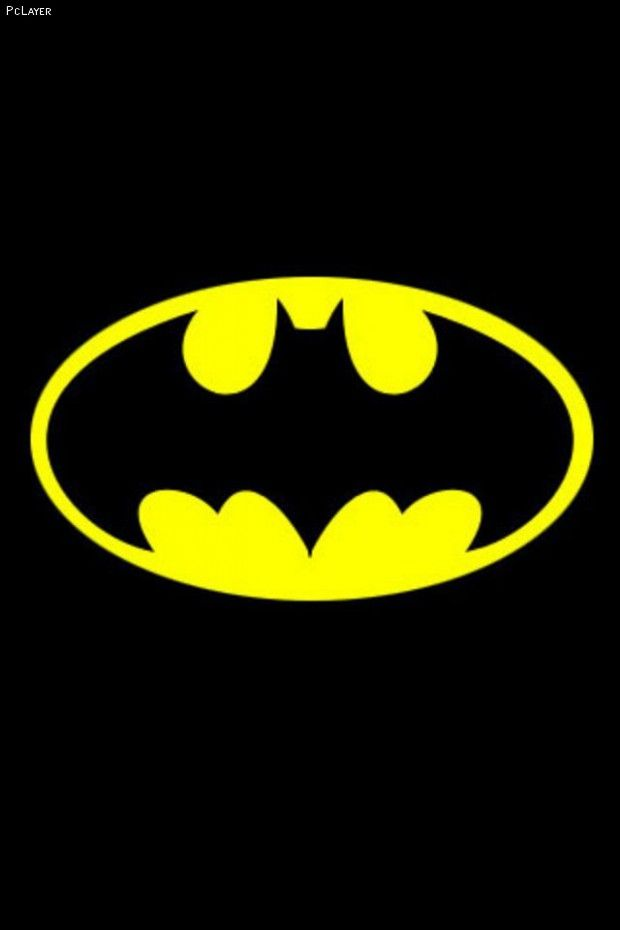 Image Detail For Batman Logo Yellow Black IPhone Wallpaper