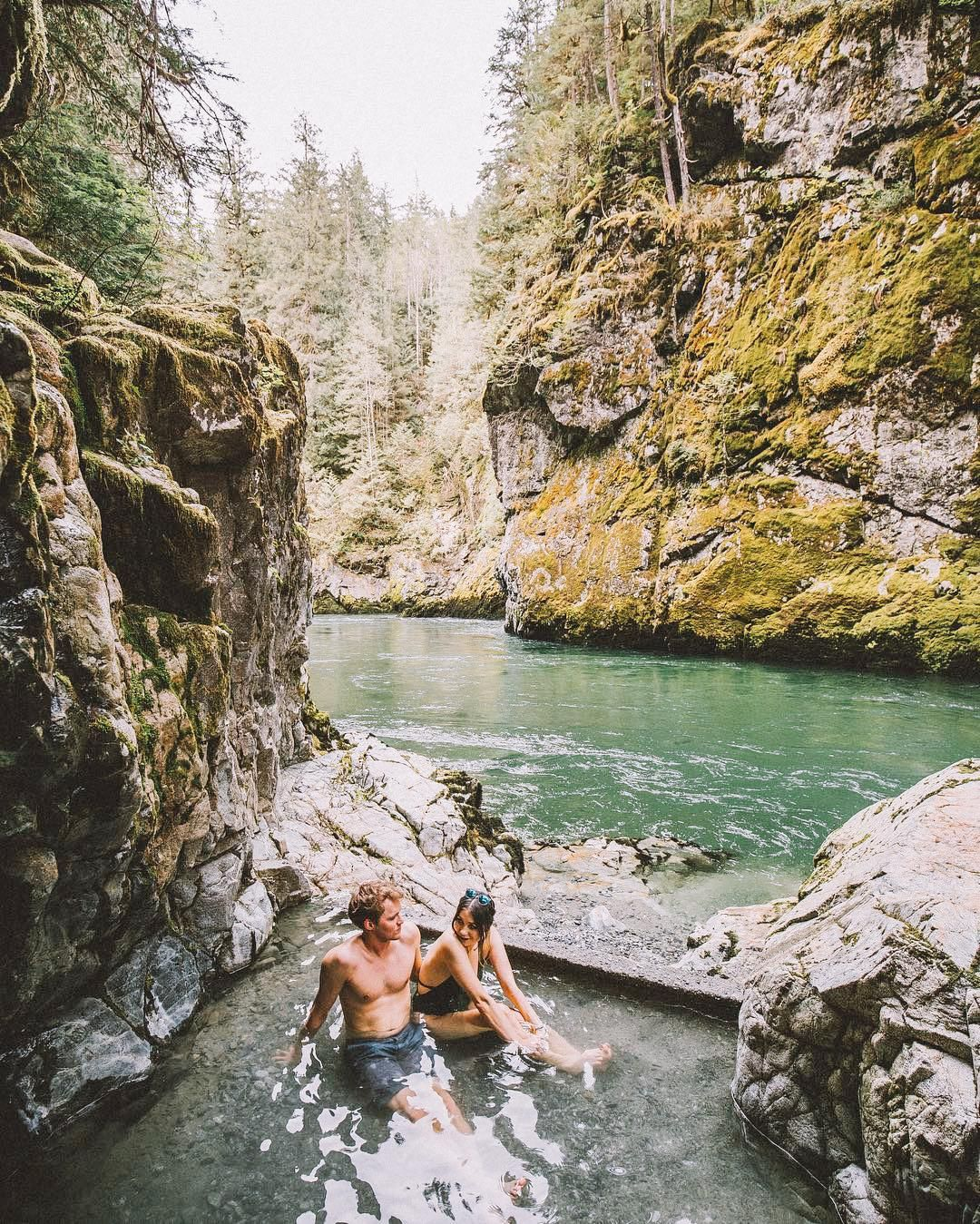 27 outdoor hot springs tubs pools to warm up your