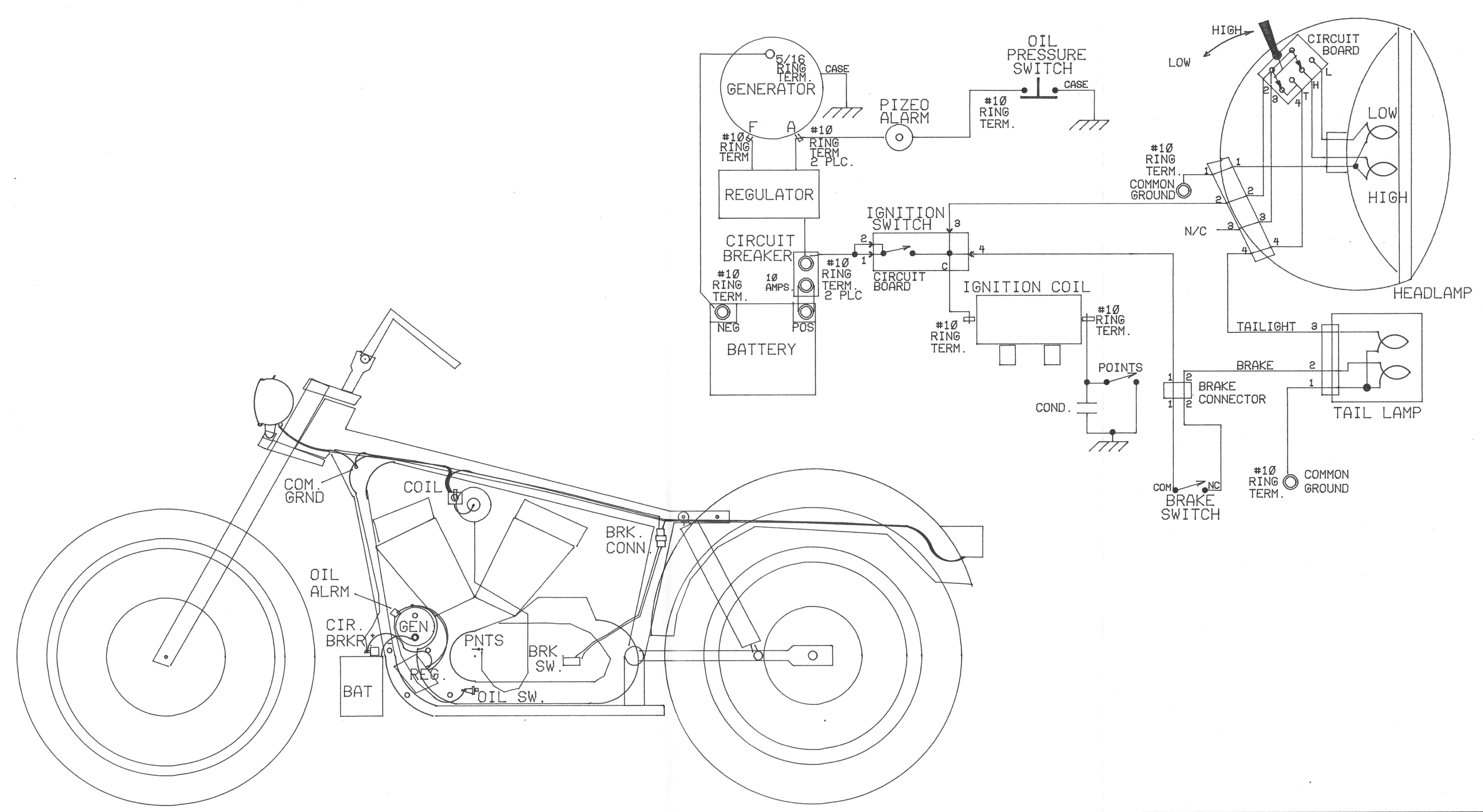 Sportster Engine Diagram Harley Davidson Sportster Ironhead Sportster