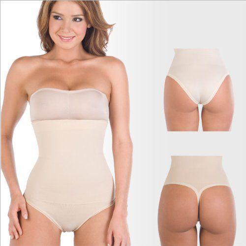 2c8cd0eaaaffb Shapewear Lycra - Nylon Body Shapewear. Strapless. Thong type Bodysuit Waist  Cincher Magic Body Shaper for women Fajas  34.90