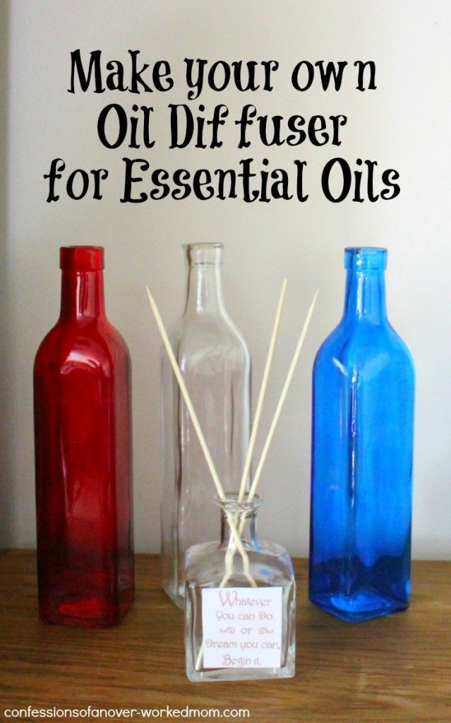 You can make your own oil diffuser for just a fraction of what they cost in the store. I love oil diffusers because I love scents in my home...