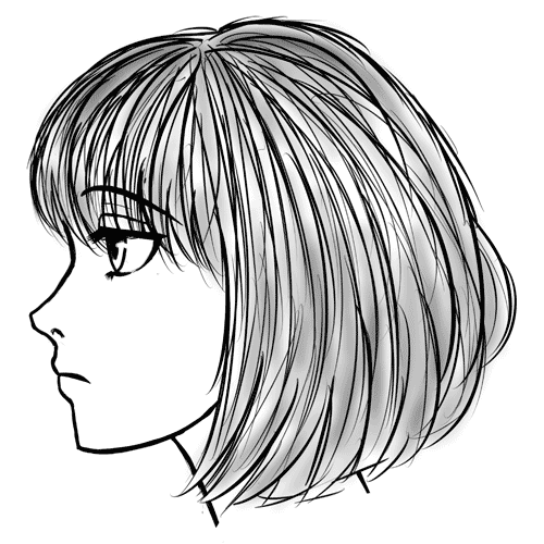 draw side of face