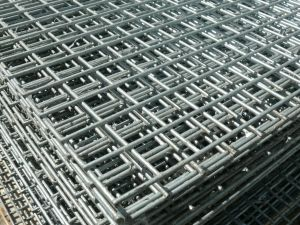 Galvanized welded wire steel mesh panels for security, bird and ...