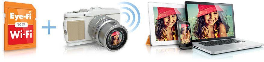 Eye-Fi in de NEX-5 maakt foto's overbrengen wel heeel erg makkelijk.