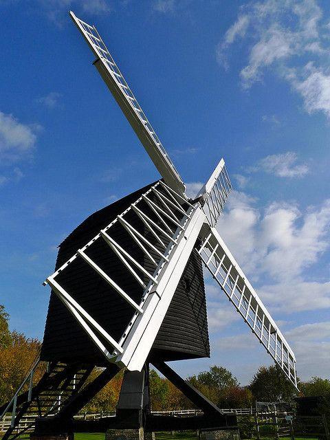 Travelogue of An Armchair Traveller: Bourn Windmill ...
